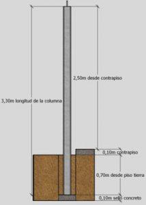 esquema lateral de contsruccion block mt sistemas prefabricados